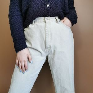 Perfect Vintage Cream Denim